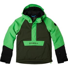 O'Neill Anorak Giacca Ragazzo, verde/nero